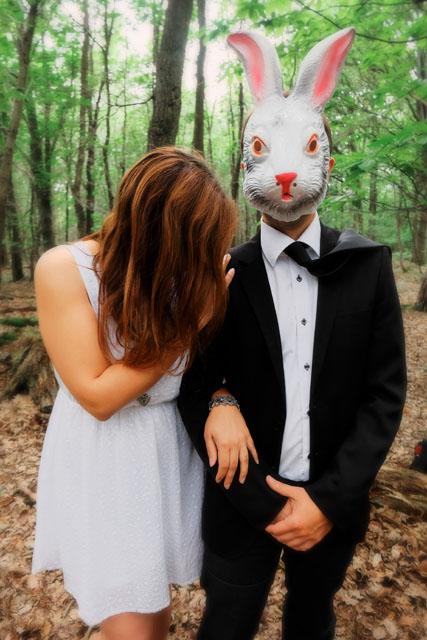 35. Le lapin au costard