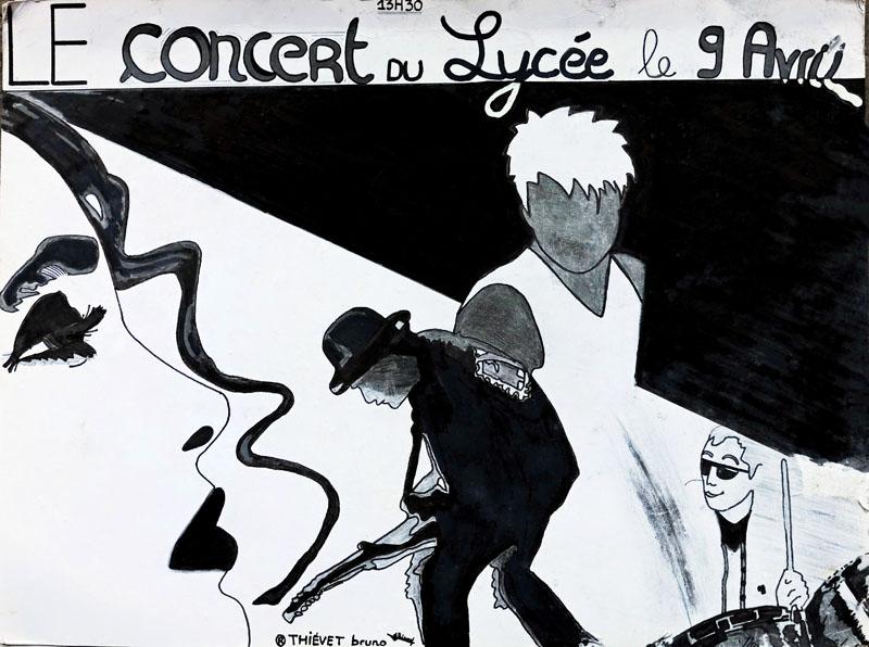 2. Affiche de concert