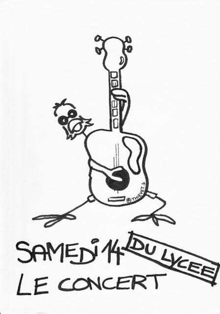 7. Concert du lycée