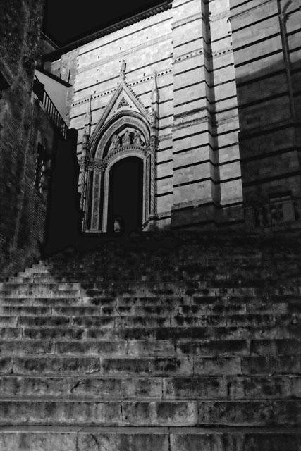 cathédrale crépuscule